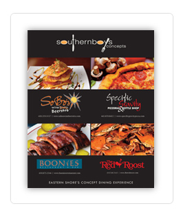 Maryland Restaurant Advertising Design